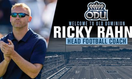 New ODU HC Ricky Rahne Continues To Build Staff