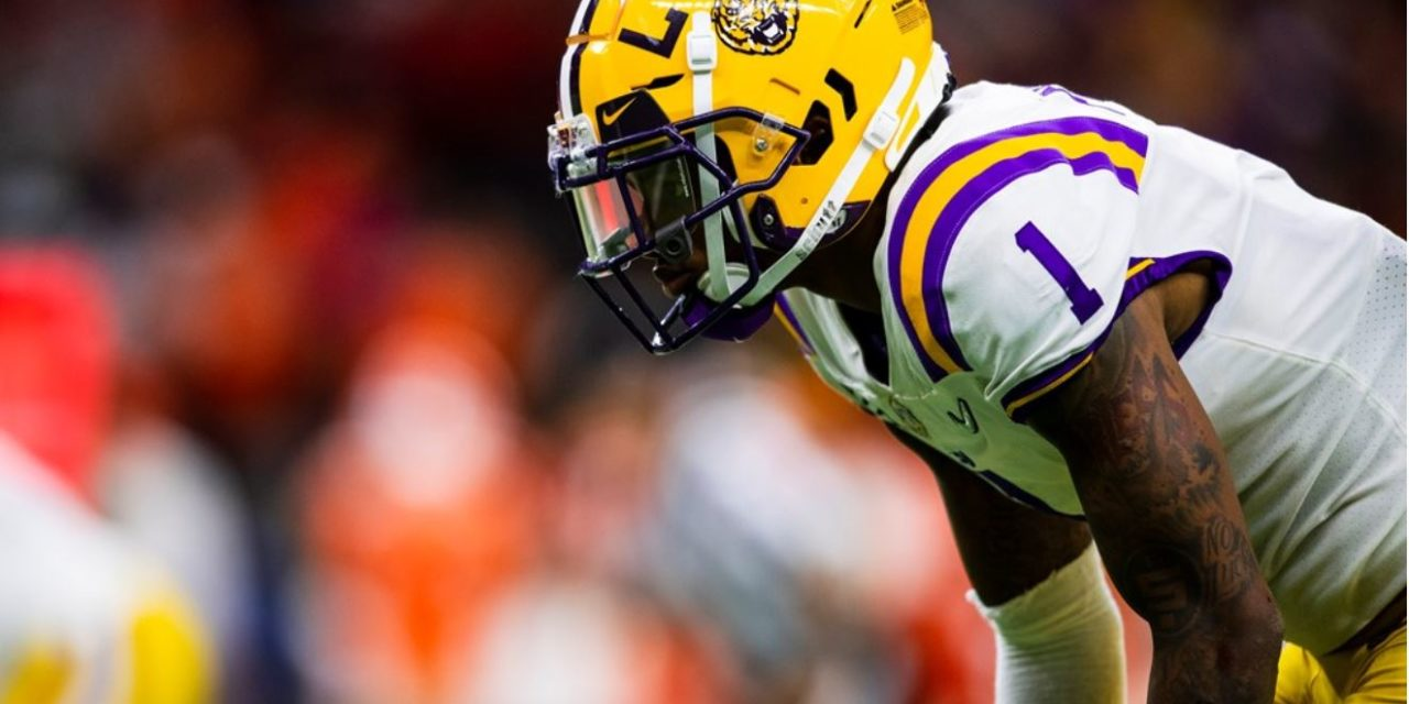 NFL Draft: LSU CB Kristian Fulton Selected by Titans