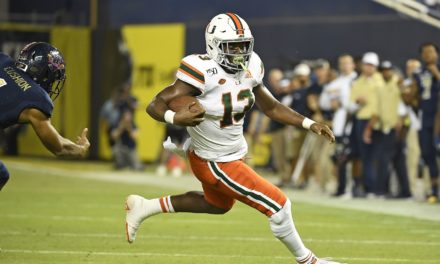 Miami RB DeeJay Dallas Headed to Seattle