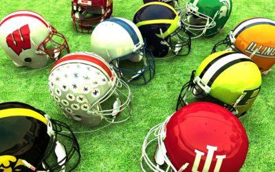 Big Ten Helmet Concepts