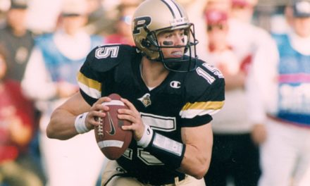 Purdue Football's Greatest Moments: Oct. 28, 2000 — Brees to Morales
