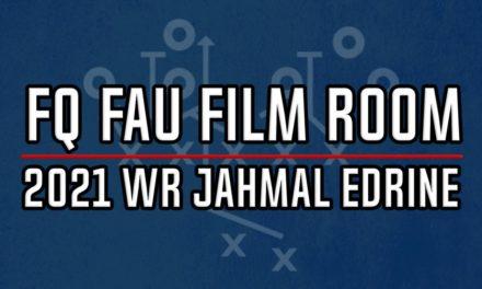 FAU Film Room: 2021 WR Jahmal Edrine
