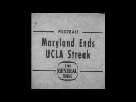 CFB Flashback: 65-Year Anniversary — Maryland Blanks No. 1 UCLA in Top-5 Match-Up