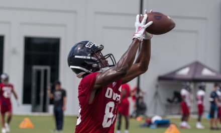 FAU WR LaJohntay Wester Drawing Hype During Camp