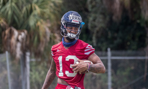 """""""A Level of Calmness"""": FAU WR Aaron Young Discusses Journey with Buddhism"""