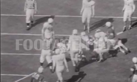 CFB Flashback: 70-Year Anniversary — Fumbled Snap, Vessels' TD Lifts Sooners Past Texas in Top-5 Match-Up