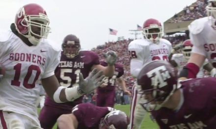 CFB Flashback: 20-Year Anniversary — Marshall's INT Return for a TD Lead No. 1 Oklahoma's Rally Past Texas A&M