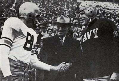 CFB Flashback: 70-Year Anniversary — Navy Stuns Army, Snaps Black Knights' 27-Game Unbeaten Streak