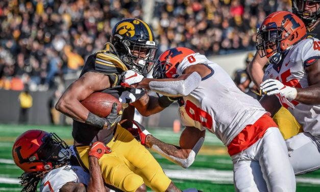 The Illini Take on Iowa Looking for Third Win in a Row