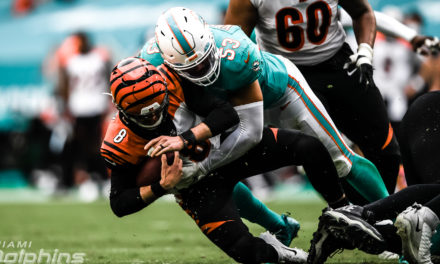 The Good, the Bad and the Dolphins: Week 13, 2020 — Defense Dominates as Miami Tops Bengals, 19-7