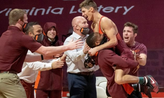 """""""I Was Pretty Amped Up"""": Sam Latona Reflects On His Dual-Clinching Moment vs. No. 3 NC State"""