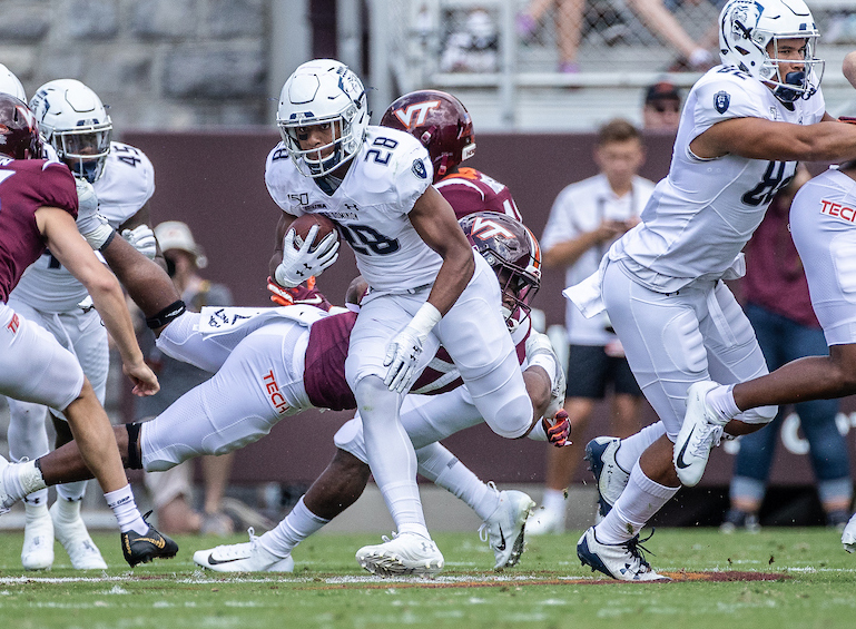 Redshirt Sophomore RB Watson Excited for Role in New ODU Offense