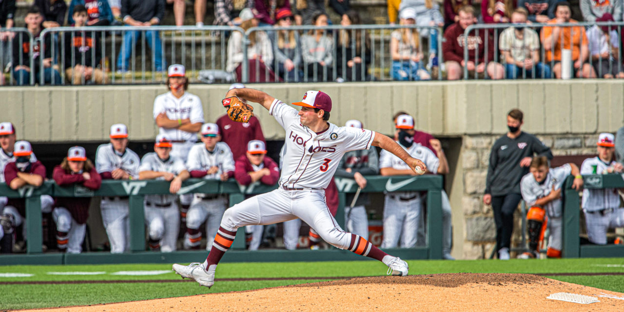 MLB Draft Recap: Four Hokies Have Chance to Suit Up at Next Level
