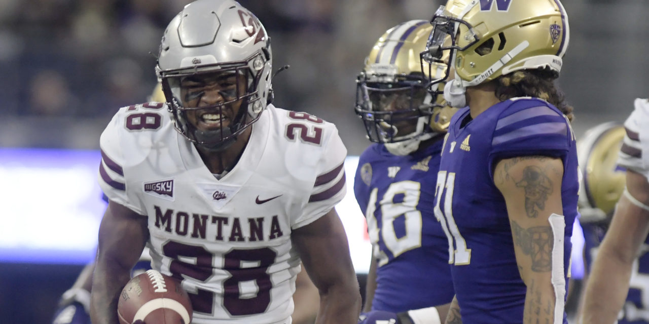 FQ/CFBHome Team of the Week: Week 1, 2021 — Montana