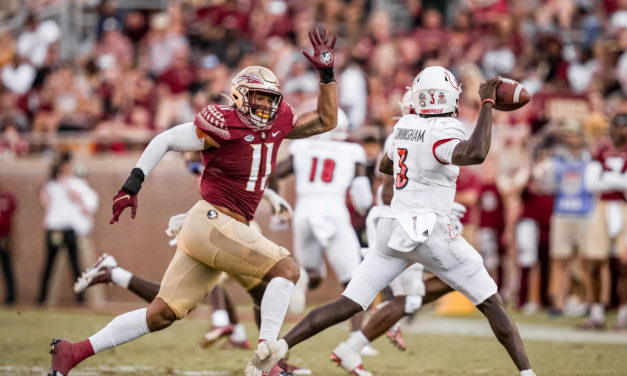 Louisville 31, FSU 23: Seminoles Sit at 0-4 for First Time Since 1974