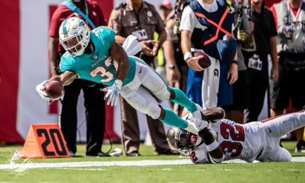 Five Finteresting Facts: Dolphins Get Blasted by Bucs in Tampa, 45-17