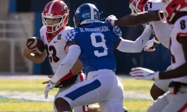 SEC Game of the Week: Georgia and Kentucky Battle for SEC East Supremacy